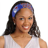 Ladies, add the perfect finishing touch to your Rangers game day outfit with this FanBand headband!