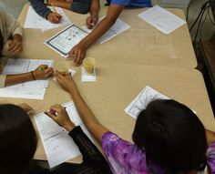 Students review the years topics of physical science by conducting mini labs in this science station activity