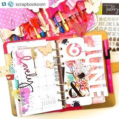 websterspages: Gorgeous! Look at the FREE planner class going on now using our #colorcrush planners at @scrapbookcom! ・・・ The juiciest colors live in this gorgeous planner by @dedralong! learn how to personalize your color crush planner in our free class with @laurafunk ➡️ on their website! @scrapbookcom #websterspages #plannerlove