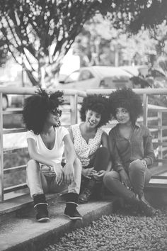 I need more friends with fros!!