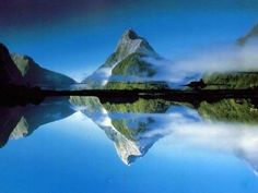 Amazing Mountain Mirror Image!