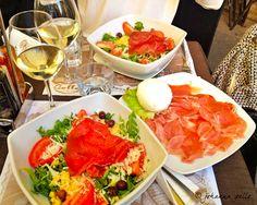 A bite to eat in Brera, Milano