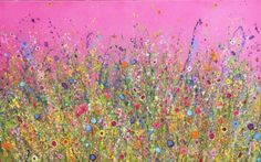 My heart is Overflowing With Love is an original artwork by UK Flower Artits Yvonne Coomber using oil paint on a canvas surface. This unique piece is signed and titled on the back by the artist. Acrylic Painting Flowers, Floral Paintings, Original Artwork, Original Paintings, Flower Artists, Glitter Art, Pictures To Paint, Abstract Canvas, Paintings For Sale