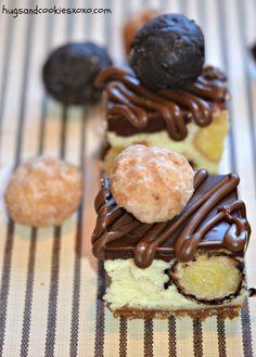 Doughnut Cheesecake Bars