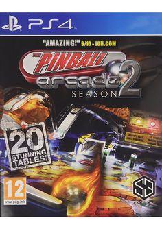 #Pinball Arcade Season 2 #PS4 £9.85