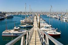 Le port de plaisance de Cherbourg