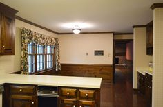 Painting Dark Trim & Paneling In The Kitchen   Young House Love