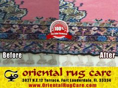Oriental Rug Cleaning Process and Services