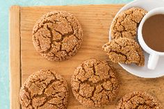These oversize cookies are perfect for sharing with ginger cookie-loving friends.
