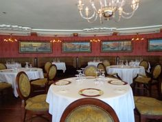 Fine dining aboard the Disney Cruise Line  -  visit Remy for a delightful, adult only experience.