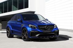 El brutal 'Infierno' de TOPCAR se pasa al azul: Hasta 716 CV para el Mercedes GLE Coupe (2017)