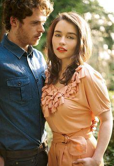 Emilia Clarke and Richard Madden <3 #sexy #charming