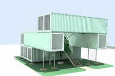 Container Home by Jesse C Smith Jr