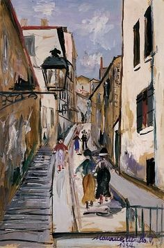 Maurice Utrillo, LA MONTEE DES EPIES A SAINT-JUST