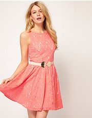 ASOS Fashion Finder | Oasis Lace Skater Dress