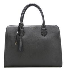 Coccinelle London Handtasche Leder schwarz 36 cm - UA5180301-001 - Designer Taschen Shop - wardow.com