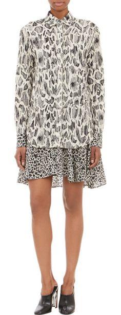 10 Crosby Derek Lam animal print dress (for more animal prints -- http://chicityfashion.com/animal-prints/)