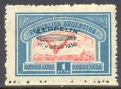 Argentina - Vuelo del Zeppelin 1930