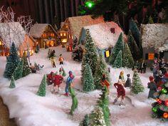 christmas village - Google Search