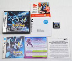 Pokemon Black Version 2 - Nintendo DS - Complete With Case - Original Paperwork    eBay