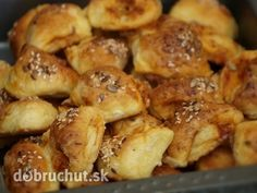 Pizza pagáčiky Pretzel Bites, Biscuits, Pizza, Food And Drink, Potatoes, Cooking Recipes, Bread, Snacks, Chicken