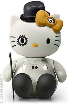 Clockwork Orange Kitty, scary yet cute