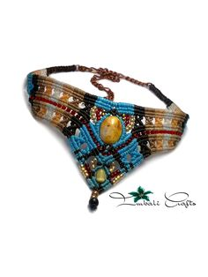 thai wax cord choker imbali crafts
