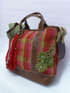 Messenger bag cuadros (2013) Giulianna Tiravanti