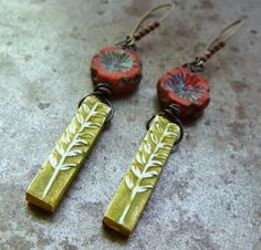 Art Bead Scene Blog: Growing Garden Earring Tutorial - Free Project