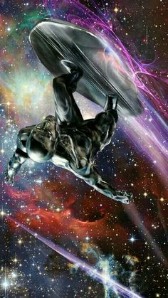 Silver Surfer by John Gallagher
