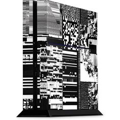 QR Glitch Playstation 4 PS4 Console Skin
