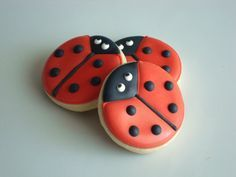Cute Ladybug cookies