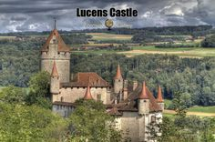 Lucens Castle: Medieval Fortification in Switzerland | via @learninghistory