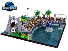 https://flic.kr/p/AhNaCz | Jurassic World | The 4th part of my collaboration with Markus1984 that we built for display at Bricking Bavaria Munich 2015. Our collab won the best moc of the exhibition award and we are really proud of it.  More pictures coming soon...