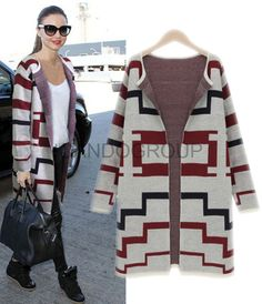 sale 2014 winter new woman plus size cardigans long sweater coat female knitted cardigan women knitwear abrigos mujer ICD13018
