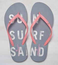 b742fce1edff Dark Grey AEO Flip Flop -sz small- check! Grey Flip Flops