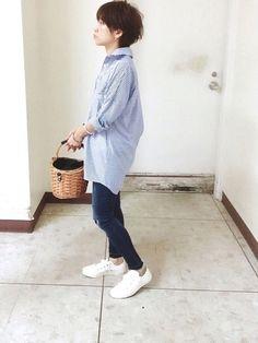 サミールナスリのかごバッグ Yahooショップでポイント使って激安で買えました    かごバッグでお Yahoo, Normcore, How To Wear, Style, Fashion, Swag, Moda, Fashion Styles, Fashion Illustrations