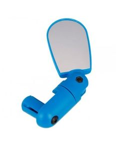 ID-005 Adjustable Compact Bike Bicycle Cycling Rearview Mirror Blue
