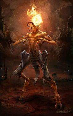 Uriel, Ángel de la Llama - Serafín