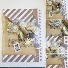Skøn ny blad-die fra Cheery Lynn. Tak for tippet Jill  #card #cardmaking #cheerylynn #nyescrapsager