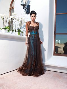 elegant dresses | Special Occasion dresses by kathy ireland i love this one but it is probley to much$$
