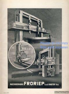 werbung 1941 | ... Fropiep Rheydt Reklame Kriegsjahr 1941 Werbung Maschinen WK WW 2
