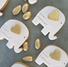 Beautiful cookies made for my baby shower by Zacari Food Co 🍪💖  Image by  Baby Shower Favours, Baby Shower Cookies, Baby Shower Invitations, Elephant Cookies, Event Signage, Cookie Icing, Party Signs, Pink And Gold, Stationery