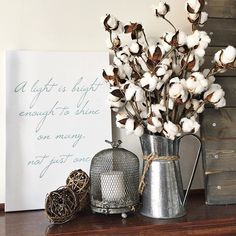It's BOGO SALE TIME! Collette @colletteosuna Is so good at BEAUTIFUL! Such a treat to see her Painted Fox Home Tweet & Twitter Bird Cloche and Cotton Stems in that BEAUTIFUL mix! Collette's Curated Collection, exclusively at Painted Fox Home is full of BEAUTIFUL things! Enjoy!