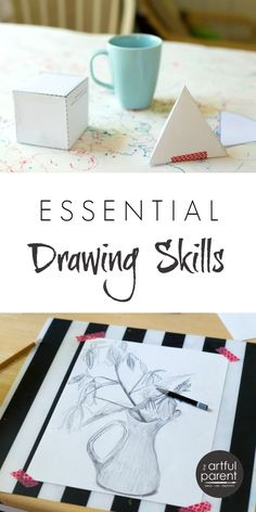 Learn or brush up on basic drawing skills...