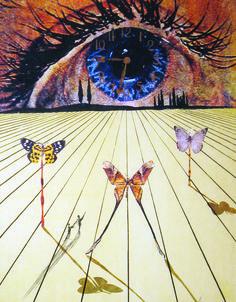 Salvador Dalí, The Eye of Surrealist Time (1971)   Artsy