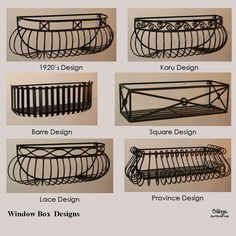 Wrought Iron Diamond Window Box | Landscaping | Pinterest | Window Boxes,  Planters And Window