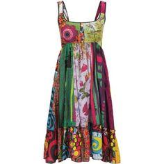 Best women's clothes#Spring dresses#Joe Browns Women's Fab And Funky Beach Dress Multi (4/6)
