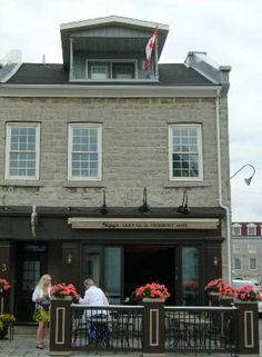 This coffee house in Kingston, Ontario, housed the Steamboat Inn in In the novel, Ryan worked here for for several weeks. Kingston Ontario, Newspaper Headlines, War Of 1812, Counter, Novels, Coffee, House, Kaffee, Home
