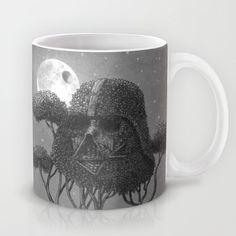 Dark Side of The Forest by Terry Fan #coffee #mugs